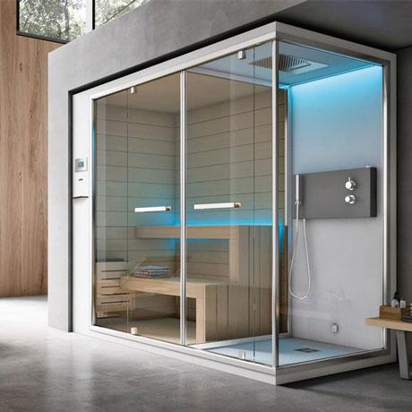 Phòng xông hơi ướt có cấu trúc như thế nào?