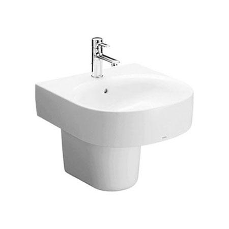 Chậu rửa lavabo chân lửng TOTO LHT766CR