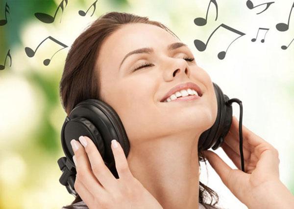 Nghe nhạc khi xông hơi