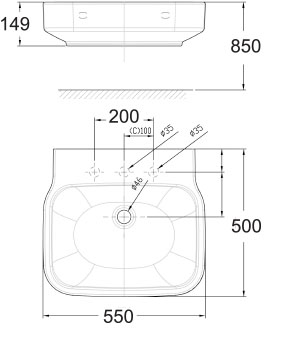 Chậu rửa Lavabo American Standard WP-F628