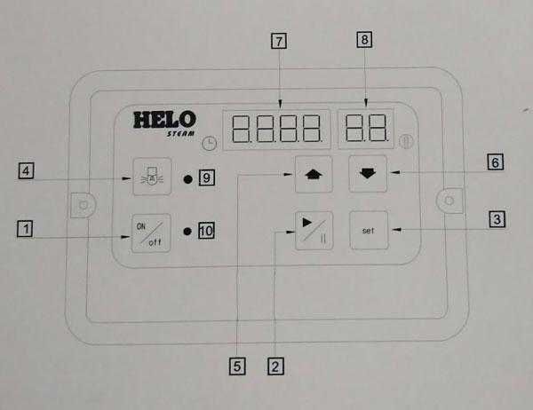 Hướng dẫn chi tiết cách sử dụng máy xông hơi HELO