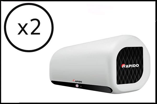 Mua 2 bình nóng lạnh Rapido tặng quà tổng trị giá gần 2.000.000đ