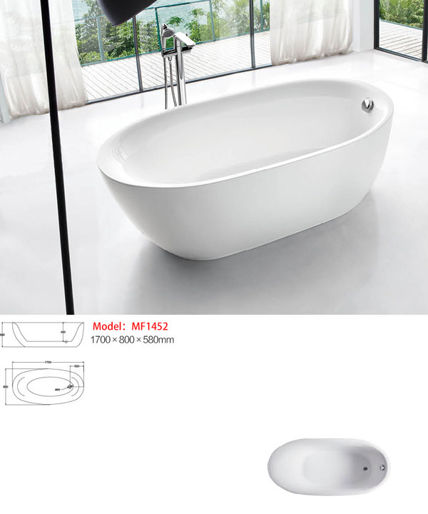 Bồn tắm EU Design MF-1452