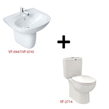 Bộ sản phẩm phòng tắm American ( Gói D1)