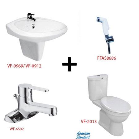 Bộ sản phẩm phòng tắm American ( Gói S13)