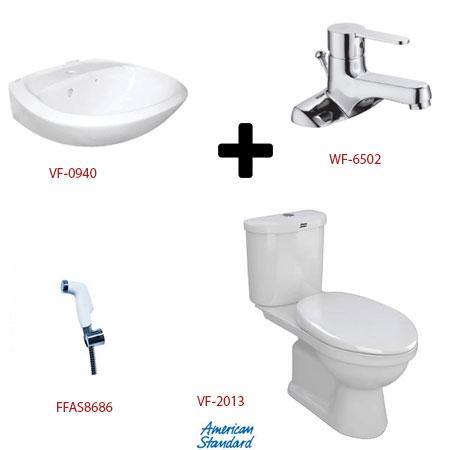 Bộ sản phẩm phòng tắm American (gói S4)