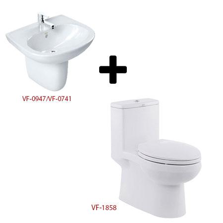 Bộ sản phẩm phòng tắm American (Gói C1)