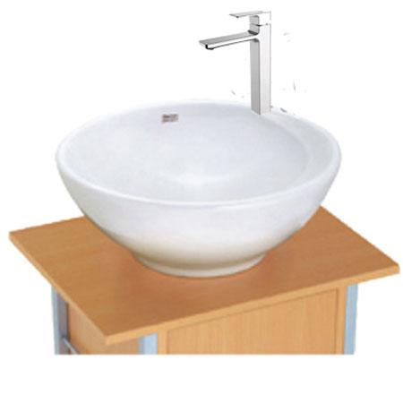 Bộ sản phẩm chậu đặt bàn và vòi American 0500-WT+WF-1302