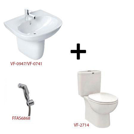 Bộ sản phẩm phòng tắm American ( Gói D2)