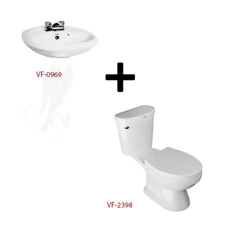 Bộ sản phẩm phòng tắm American ( Gói W5)