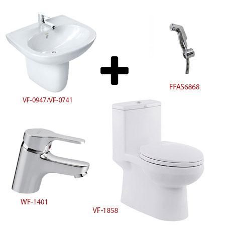 Bộ sản phẩm phòng tắm American ( Gói C4)