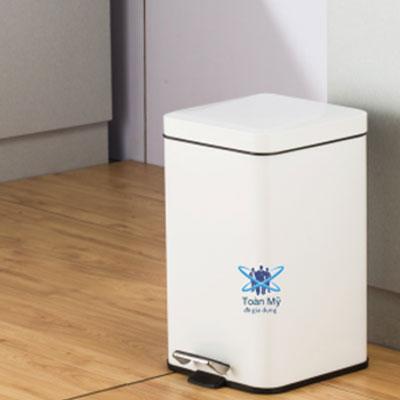 Thùng rác inox SafeVN TM 006 12L