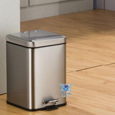 Thùng rác inox SafeVN TM 008 12L