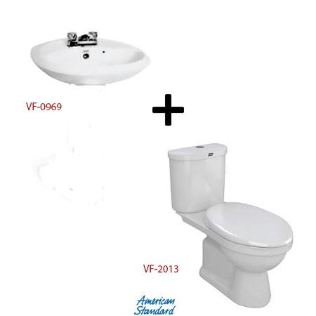 Bộ sản phẩm phòng tắm American ( Gói S7)