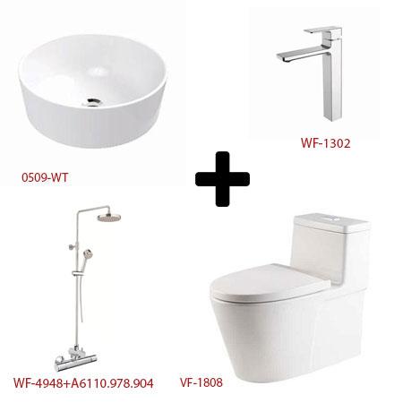 Bộ sản phẩm phòng tắm American ( Gói E4)