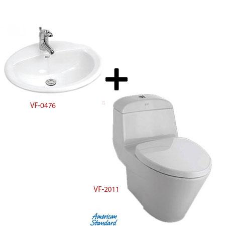 Bộ sản phẩm phòng tắm American ( Gói V1)