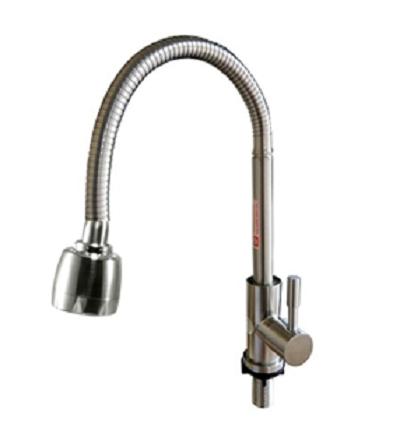 Vòi rửa bát inox 304 Bancoot giá rẻ cần mềm BC-304MEM
