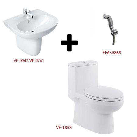 Bộ sản phẩm phòng tắm American ( Gói C2)