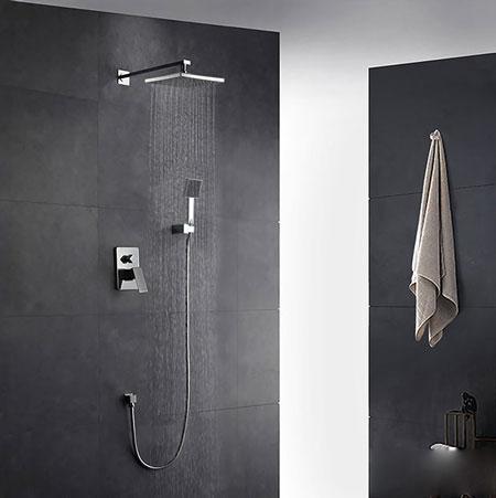 Bộ sen tắm nóng lạnh âm tường ZENTO ZT8668