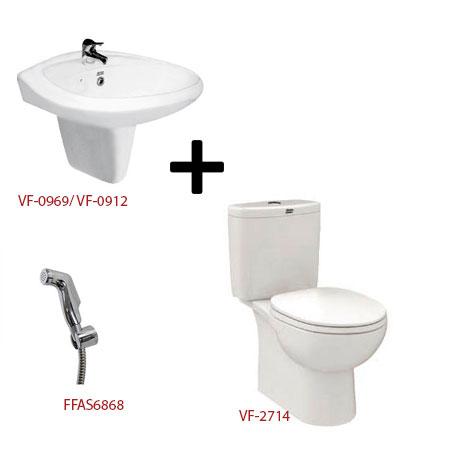 Bộ sản phẩm phòng tắm American ( Gói D7)