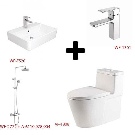 Bộ sản phẩm phòng tắm American ( Gói E5)