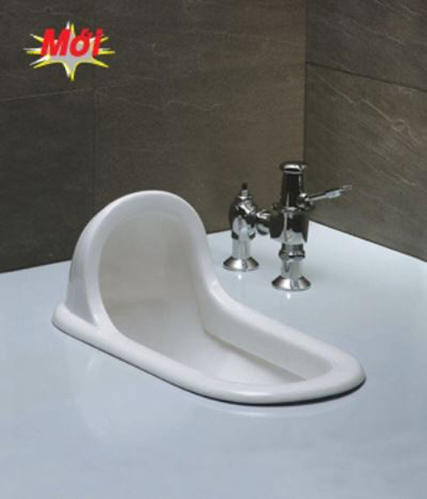 Xí xổm toilet Caesar C1230 + Bộ xả gạt BF449