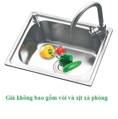 Chậu rửa bát giá rẻ 1 hố Korea TP-5040