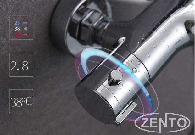 Sen cây tắm nhiệt độ cao cấp ZENTO ZT-LS8901