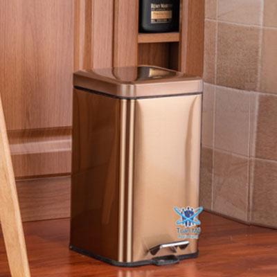 Thùng rác inox SafeVN TM 005 6L