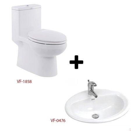 Bộ sản phẩm phòng tắm American ( Gói C1-Mùa Đông)