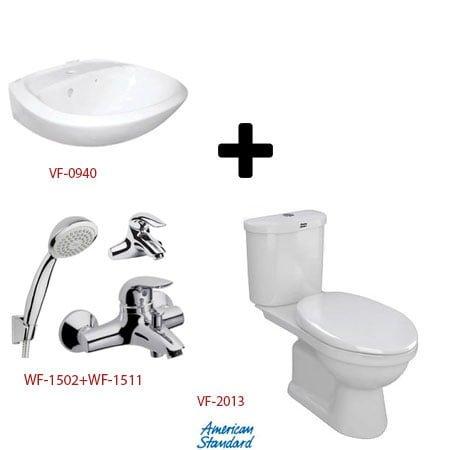Bộ sản phẩm phòng tắm American ( Gói S6- Mùa Đông)