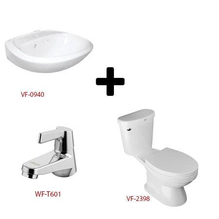 Bộ sản phẩm phòng tắm American ( Gói W3)