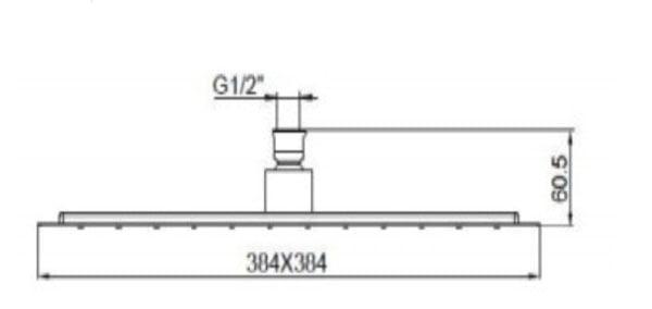 Bát sen tắm Kohler K-9301T-CL-CP