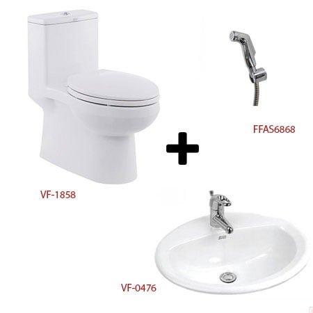 Bộ sản phẩm phòng tắm American ( Gói C2- Mùa Đông)