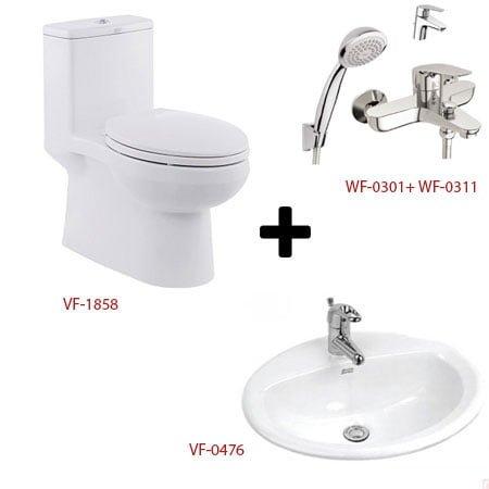 Bộ sản phẩm phòng tắm American ( Gói C5-Mùa Đông )