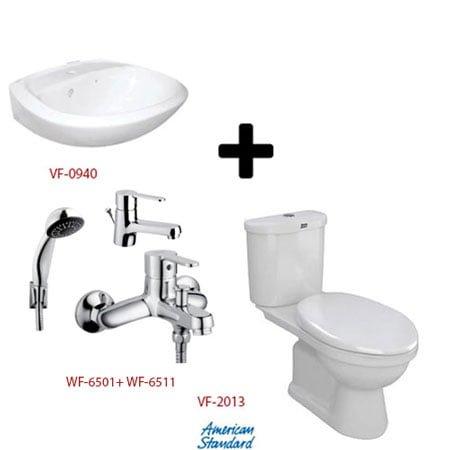 Bộ sản phẩm phòng tắm American (Gói S3- Mùa Đông)