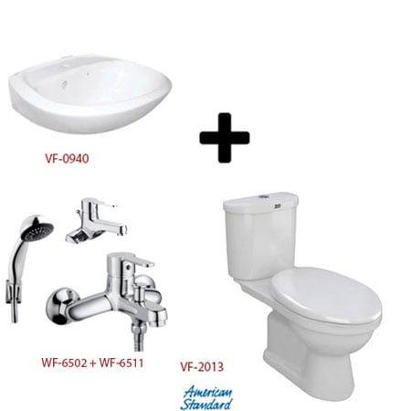 Bộ sản phẩm phòng tắm American ( Gói S4- Mùa Đông)
