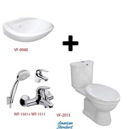 Bộ sản phẩm phòng tắm American ( Gói S5- Mùa Đông )