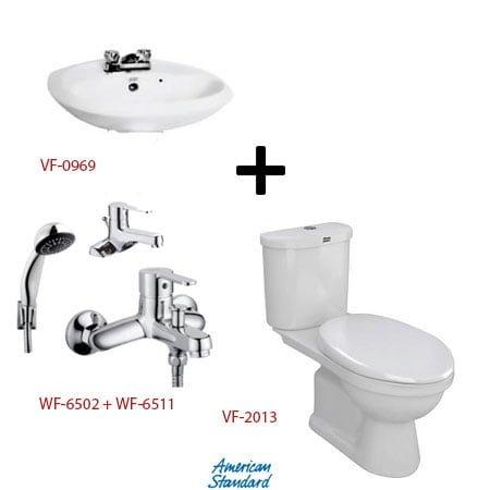 Bộ sản phẩm phòng tắm American ( Gói S12-Mùa Đông)