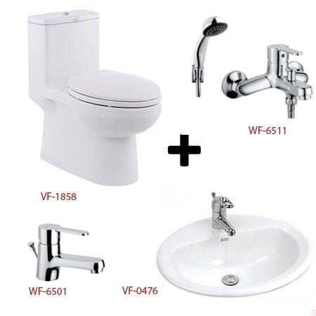 Bộ sản phẩm phòng tắm American ( Gói C3- Mùa Đông)