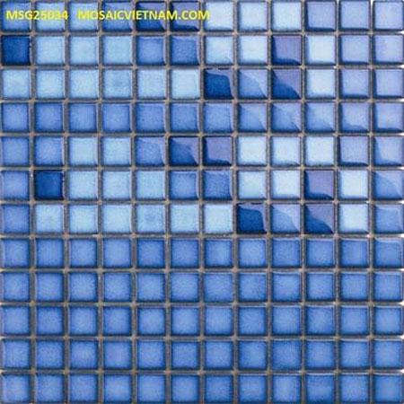 Gạch trang trí Mosaic MSG25034