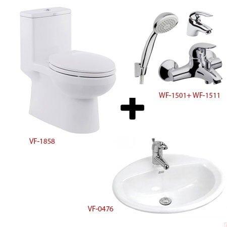 Bộ sản phẩm phòng tắm American ( Gói C4- Mùa Đông)