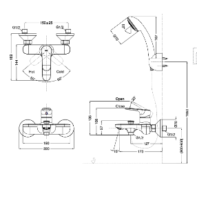 Sen tắm Inax mới BFV-1403S-4C