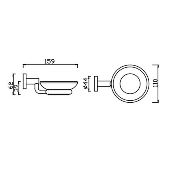 Kệ đựng xà phòng American Standard K-2801-42-N