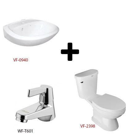 Bộ sản phẩm phòng tắm American (Gói W3-Mùa Đông)