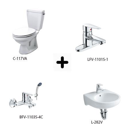 Bộ sản phẩm phòng tắm Inax Combo 1171247