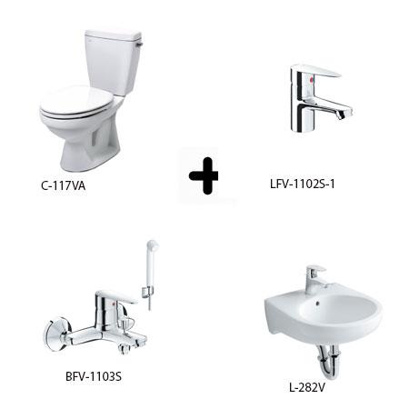 Bộ sản phẩm phòng tắm Inax Combo 1171256