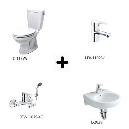 Bộ sản phẩm phòng tắm Inax Combo 1171257