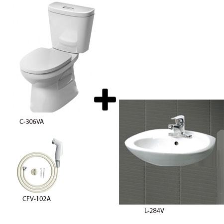 Bộ sản phẩm phòng tắm Inax Combo 306128