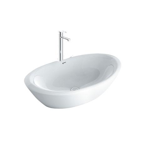 Chậu lavabo kèm vòi rửa Inax L-465V+LFV-7100SH